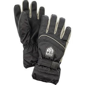 Hestra Primaloft 5-Finger Handschuhe Kinder black/earth
